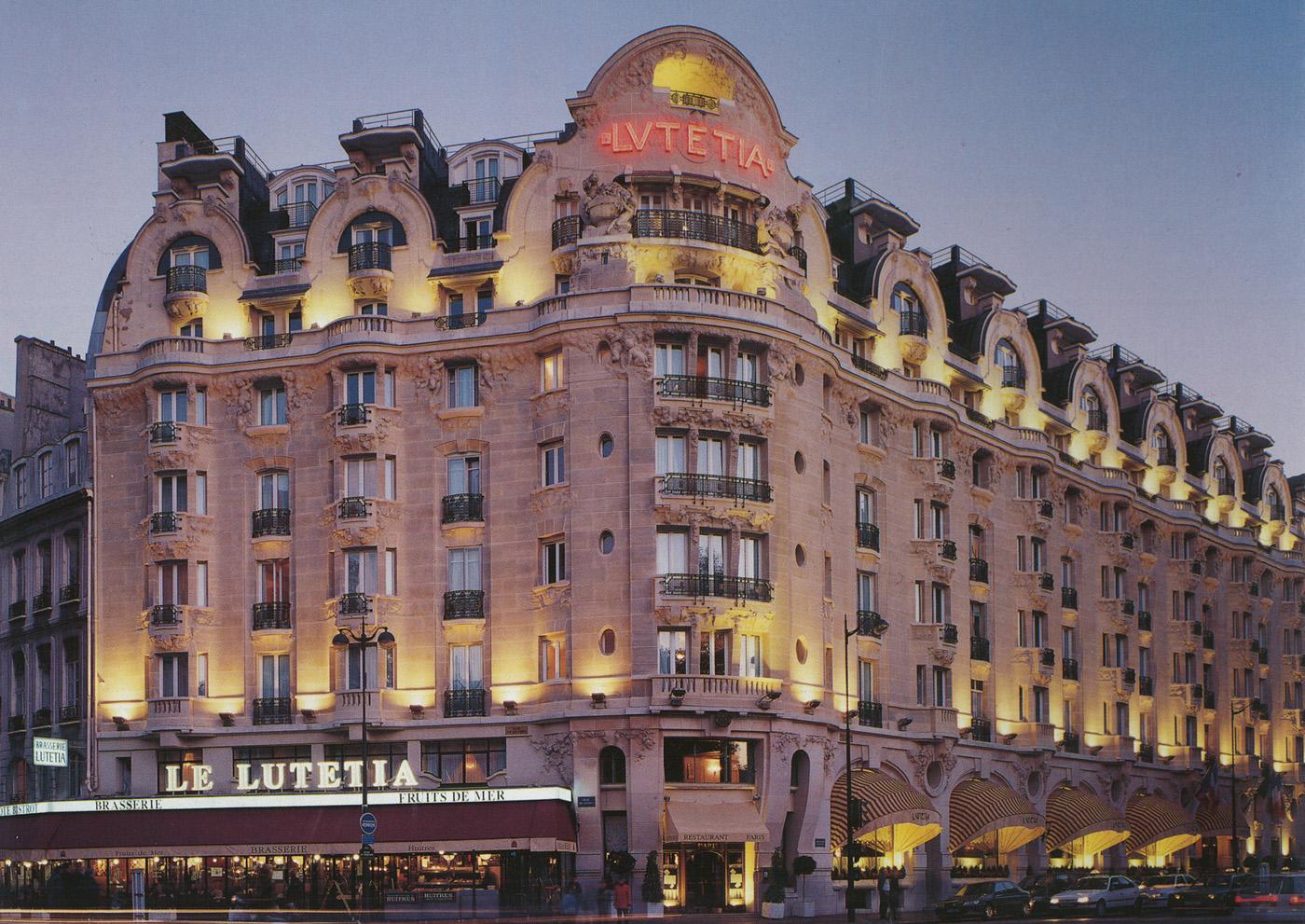 Lutetia hotel parijs keycardsysteem OTD toegangscontrole DormaKaba RFID